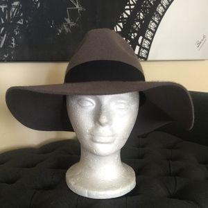 Wide Brim Wool Fedora